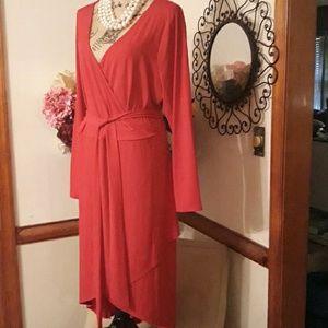 Plus Size 2X Red Dress